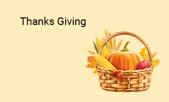 create Thanks Giving group cards