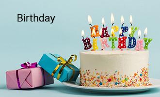 create Happy Birthday group cards