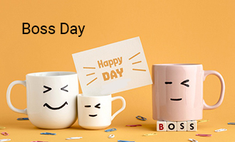 create Boss Day group cards