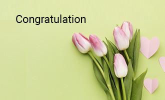 create Congratulation group cards