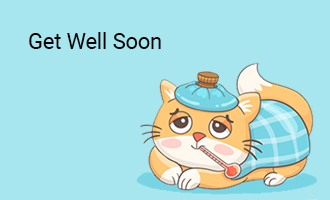 create Get Well Soon  group cards