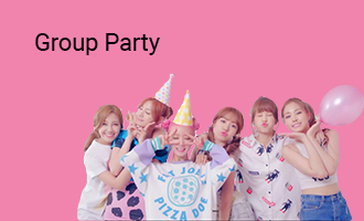 create Group Party greeting cards