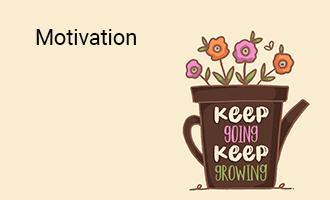 create Motivation group cards