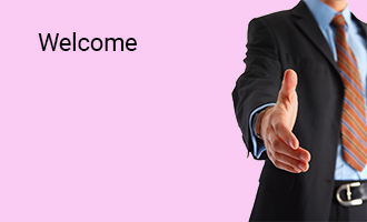create Welcome group cards