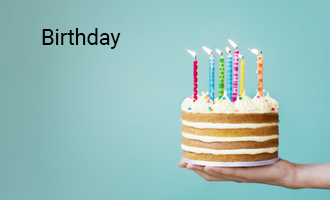 create Birthday group cards