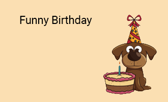 create Funny Birthday group cards