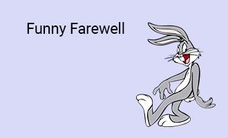 create Funny Farewell group cards