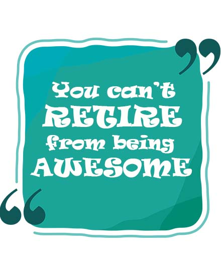 create free Being Awesome group card