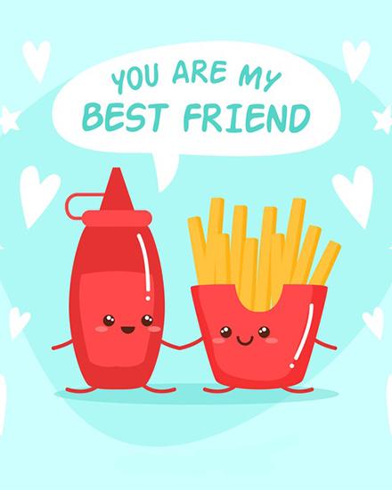 create free Best Friends group card