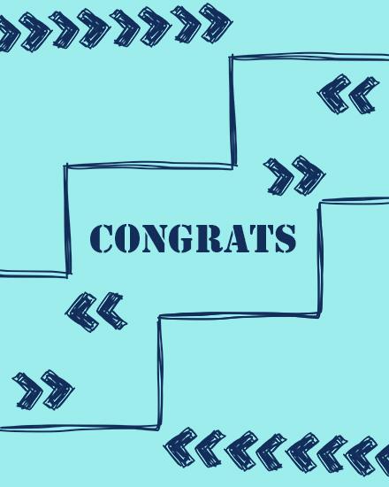 create free Congrats Dear group card