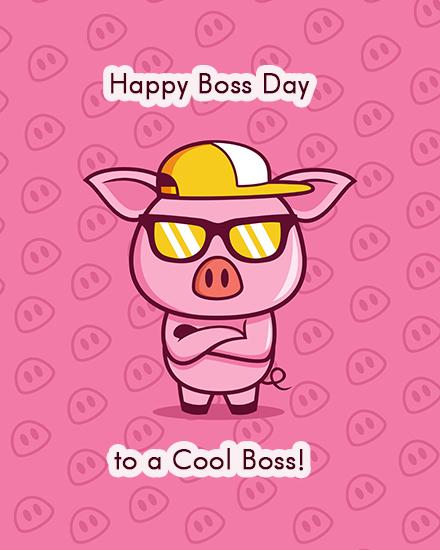 create free Cool Boss group card
