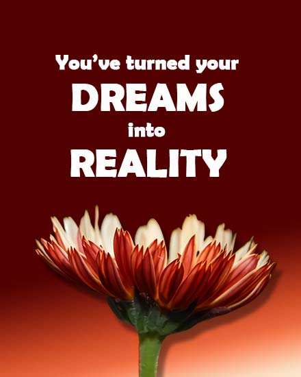 create free Dreams into Reality group card