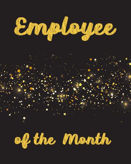 create free Best Employee group card