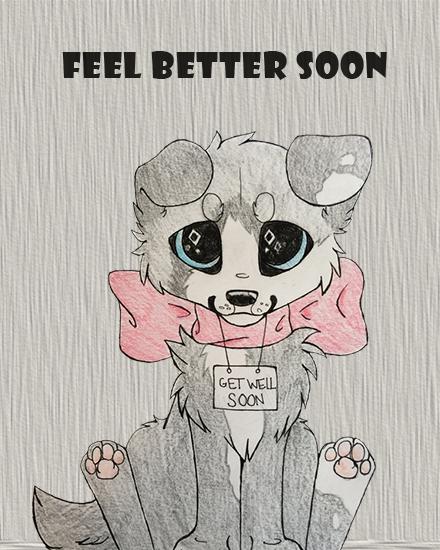 create free Feel Better Soon group card