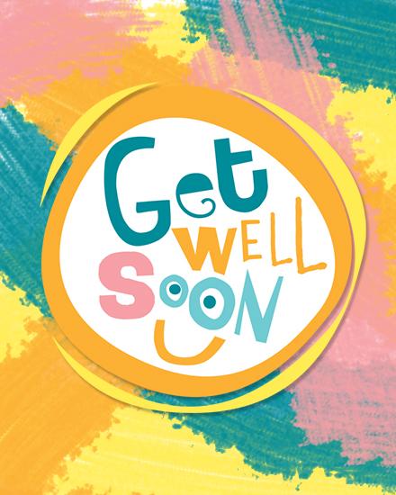 create free Get well soon group card