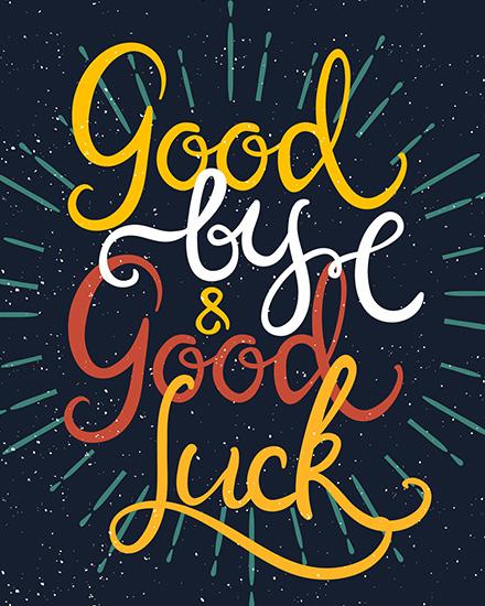 create free Good Luck group card