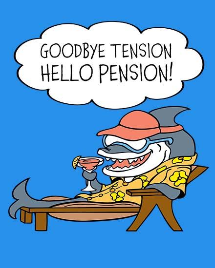 create free Goodbye Tension group card
