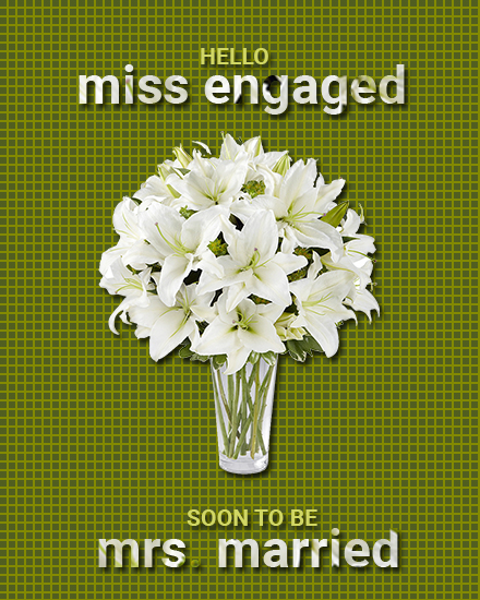 create free Miss To Mrs group card
