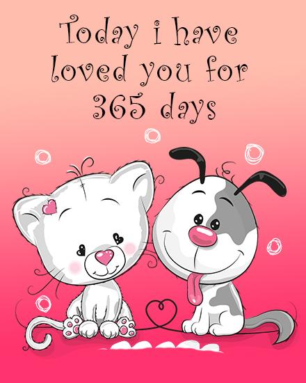 create free My Love group card