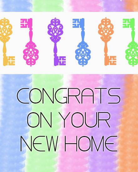 create free New Home group card