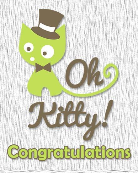 create free Oh Kitty group card