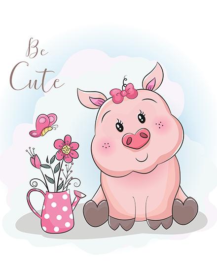 create free Piggy Love group card