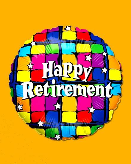 create free Retirement Balloons group card