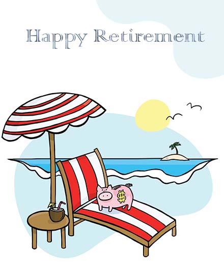 create free Retirement Fun group card