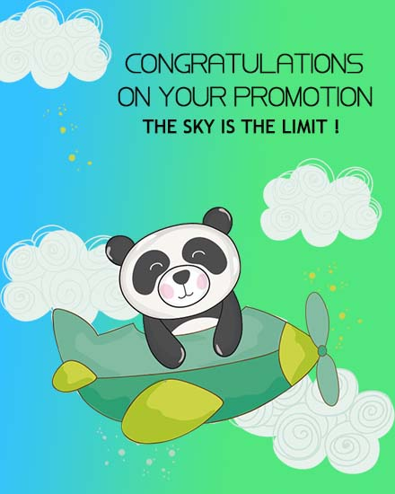 create free The Sky Limit group card