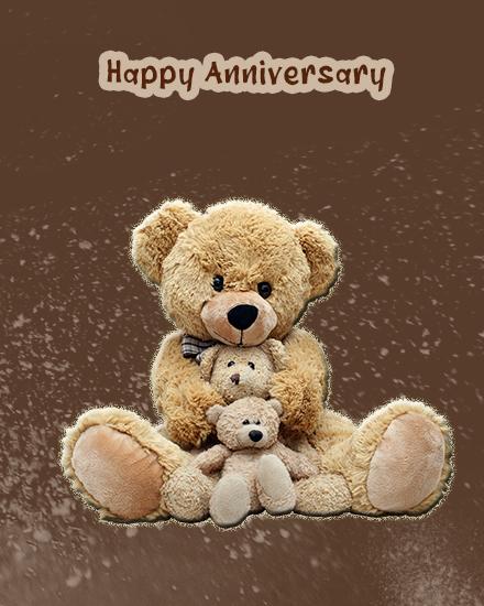 create free Teddy's Love group card
