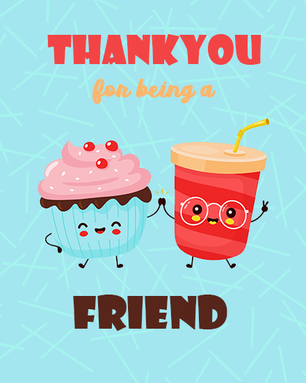 create free Being  a Friend group card