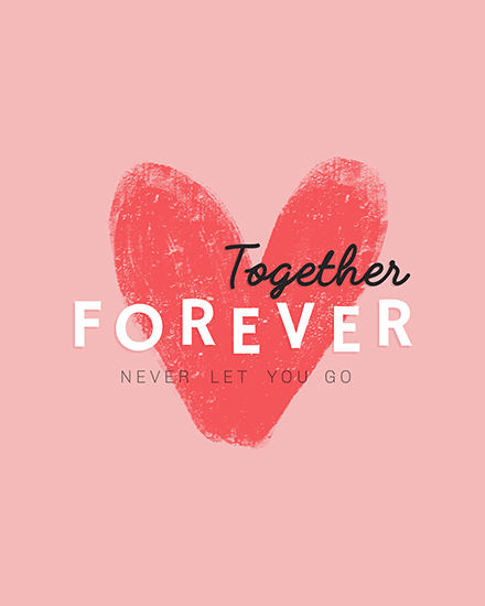 create free Together Forever group card
