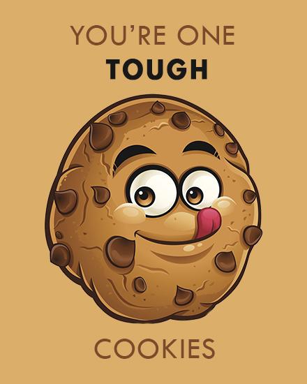 create free Tough Cookies group card