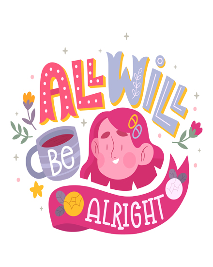 create free All will be alright group card