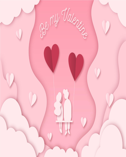 create free Lovely couple group card
