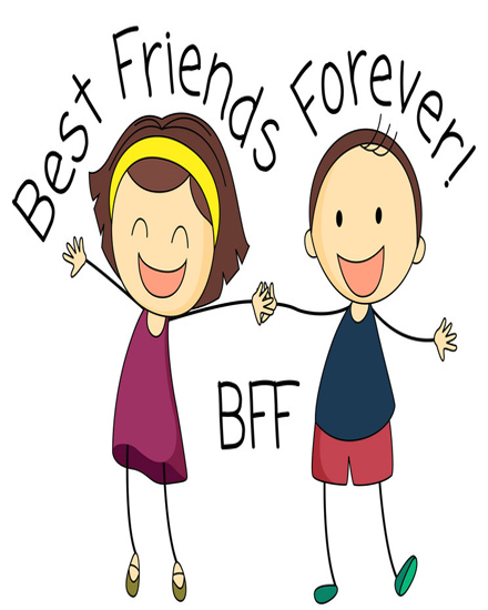create free Best friends forever group card