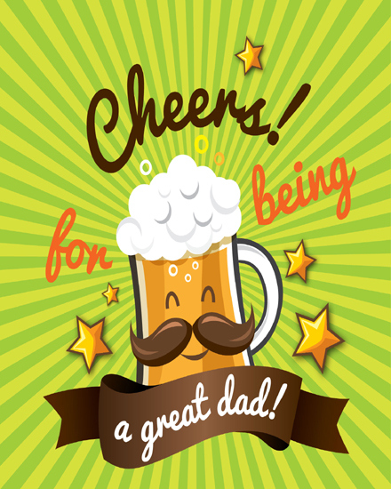 create free Great Dad group card