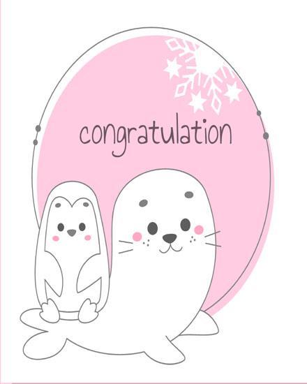 create free Cute Animals group card