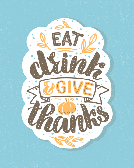 create free Give thanks group card