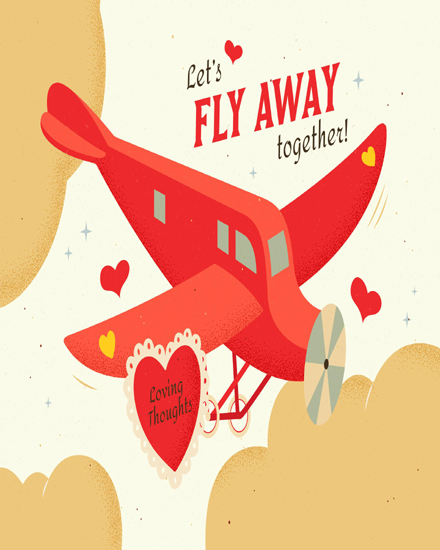 create free Fly Together group card