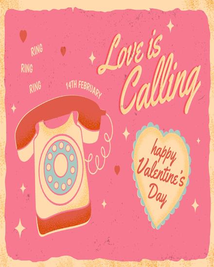 create free Love Calling group card