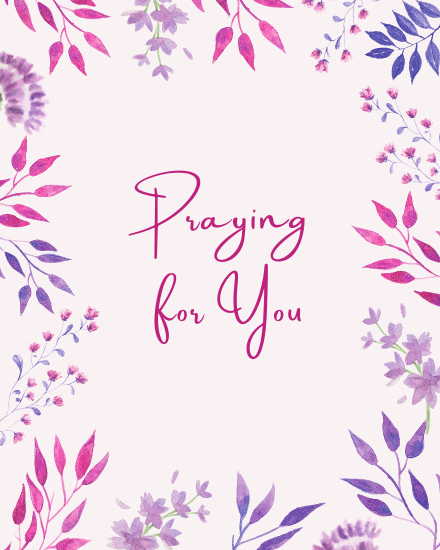 create free Praying For You group card