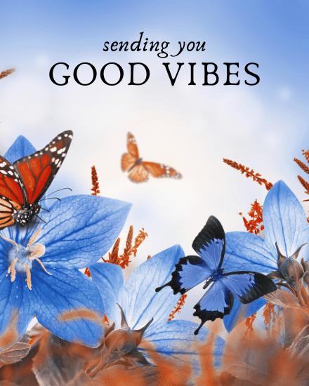 create free Good Vibes group card