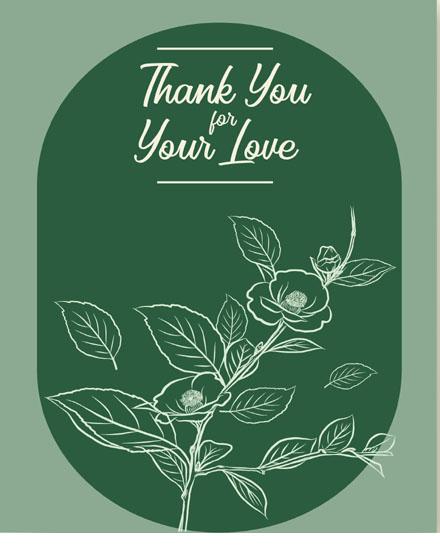 create free Line Art Flower group card