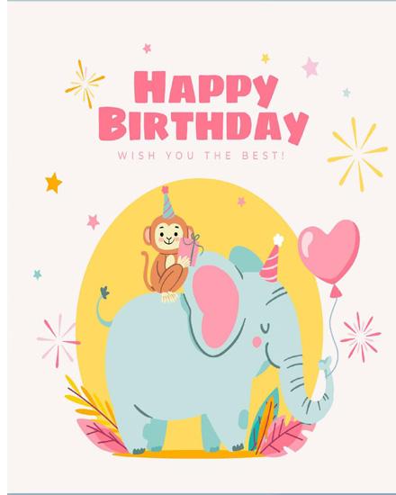 create free Friend Birthday group card
