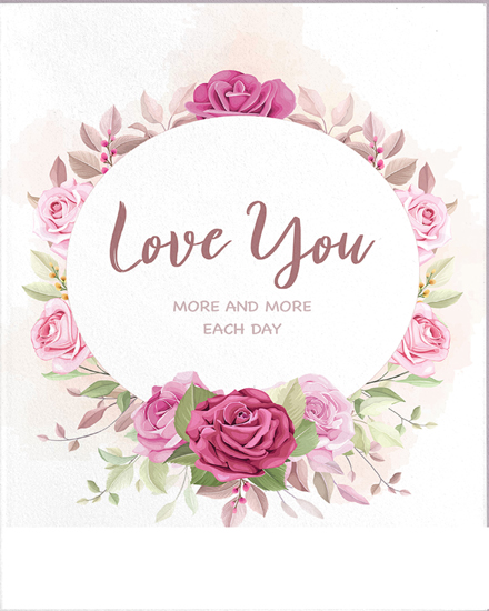 create free Pink Flower group card