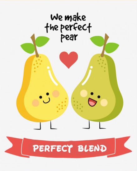 create free Perfect Blend group card