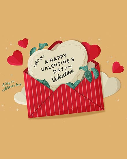 create free Valentine Day group card