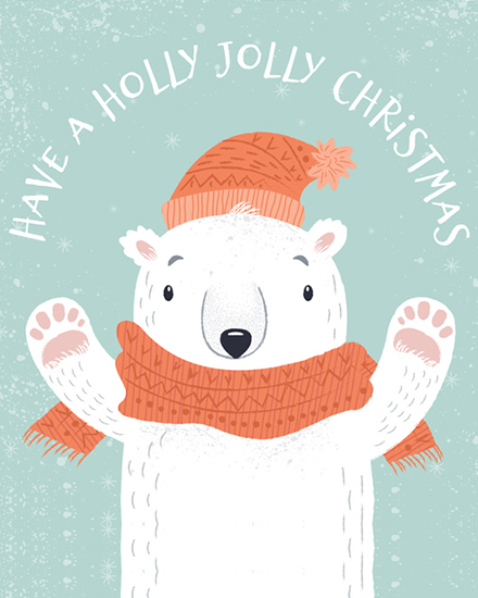 create free Jolly Holiday group card