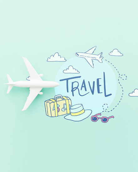 create free Travel Time group card